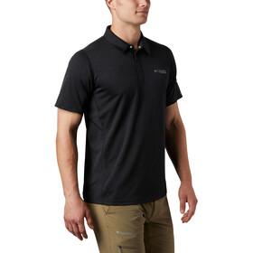 Columbia Irico Knit Short Sleeve Crew Shirt Men black